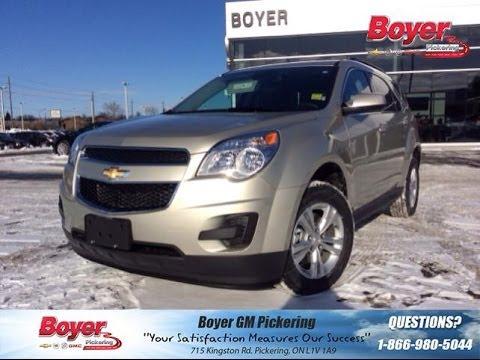 New 2014 Chevrolet Equinox LT Review | ST#140465