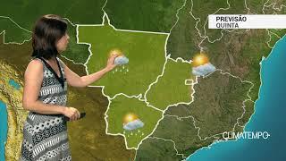 Previsão Centro-Oeste – Condições de chuva aumentam em MS