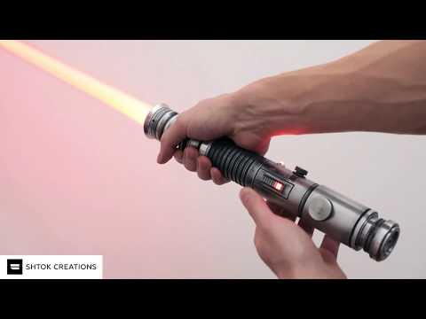 Световой меч Джедая Ки-Ади Мунди Aka KAM из Star Wars