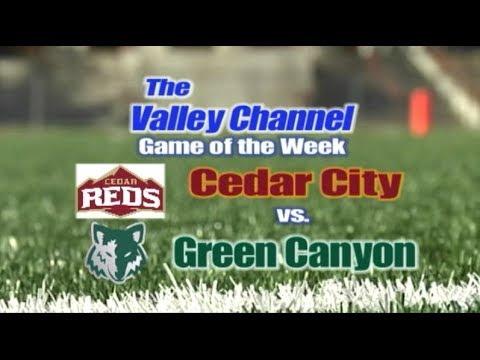 Cedar High School at Green Canyon High School football game 11-1-19