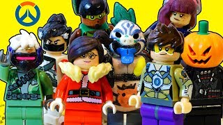 A LEGO OVERWATCH Animated Short: Loot Boxes