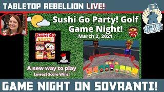 Sushi Go Party! Golf