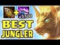 NEW NASUS IS AN ABSOLUTE MONSTER!! 1300+ STACKS 1v9 JUNGLE | BEST JUNGLER IN THE GAME
