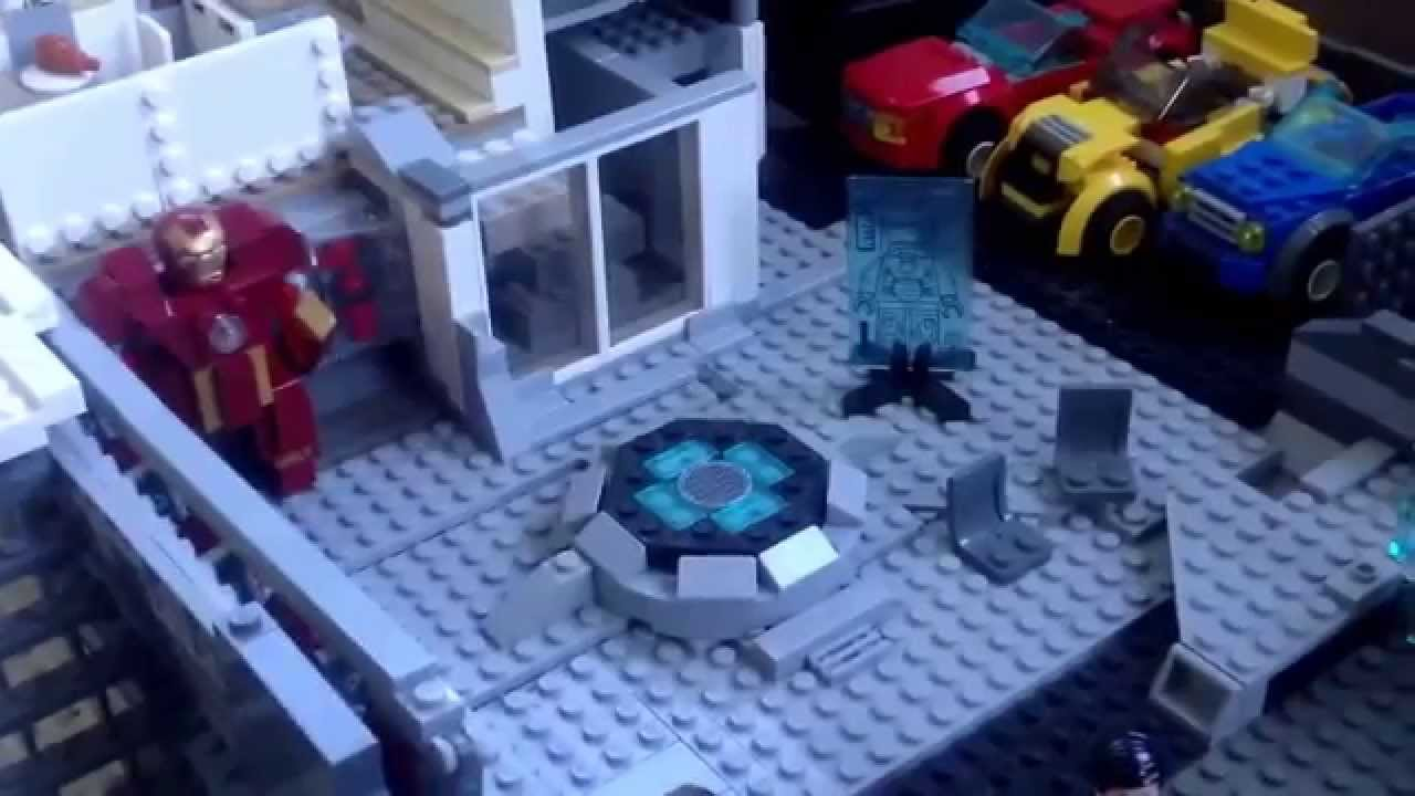 Lego Marvel Moc: Lego MARVEL: Tony Stark Malibu Mansion MOC