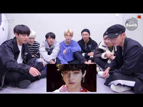 BTS REACTION TO FAKE LOVE