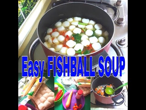 EASY fishball soup/no blend recepi /mummyzunakitchen vlogs