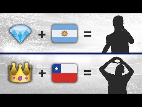 ¿Quienes son estos Futbolistas según el Emoji? | Prueba de Fútbol 2018