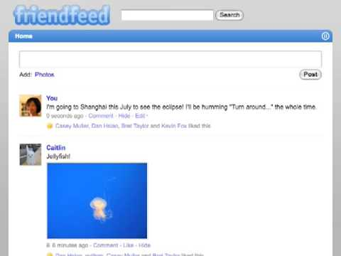 FriendFeed Beta