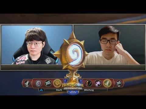DawN vs Blitzchung - Hearthstone Grandmasters Asia-Pacific S2 2019 - Week 7