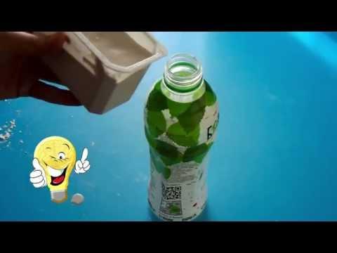 Как сделать светильник из гипса и пластиковой бутылки