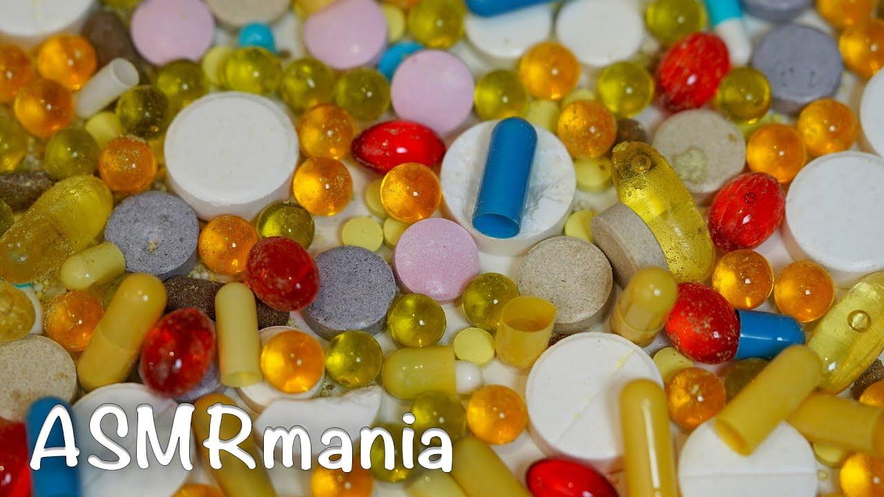 АСМР Таблетки / Oddly Satisfying ASMR Destroying Pills