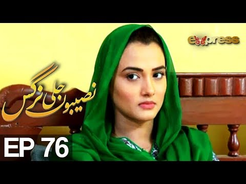 Naseebon Jali Nargis - Episode 76 - Express Entertainment