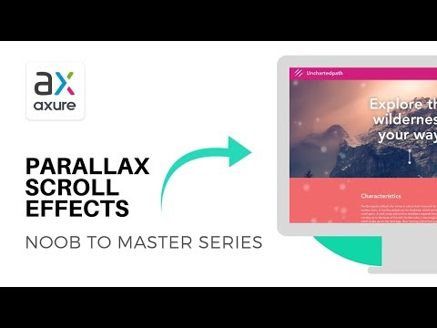 Parallax Scroll Effects | Axure RP: Noob to Master Ep28