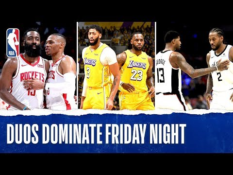 Dynamic Duos DOMINATE Friday Night!