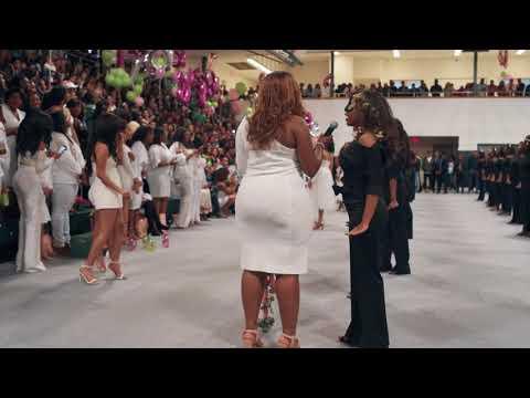 Alpha Kappa Alpha: Pi Phi Full Probate Video 2018