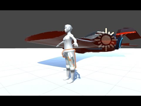 Unity5 Tutorial: Cloth for Animated Characters