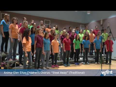 "Introductions: Anima-Glen Ellyn Children's Choir Performs ""Steal Away"" (Traditional)"