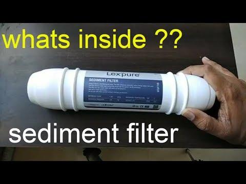 Sediment Filter what