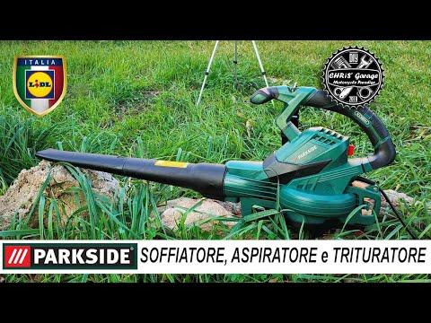 Soffiatore Aspiratore Trituratore, Parkside LIDL, PLS 3000 A1