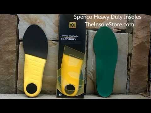 676b3244a6 Spenco Heavy Duty Insoles Review @ TheInsoleStore.com - YouTube