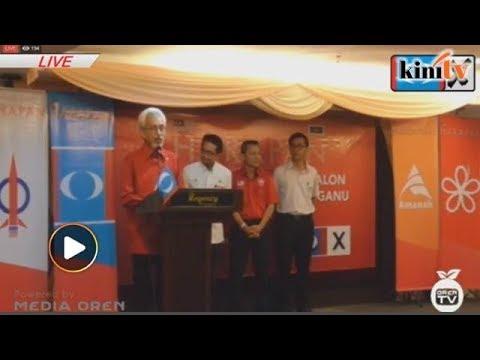 LIVE: Pakatan Harapan Terengganu umum calon PRU14