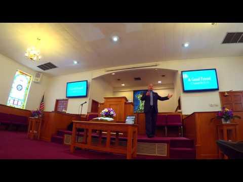 """A Good Friend: Youth Sunday"" | Rev John David Wilson"
