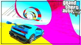 GTA 5 : Impossible Car Parkour (GTA 5 Versus)