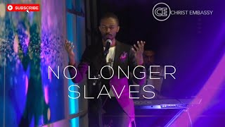 """Christ Embassy Moments of Worship with Phoster, singing """"No Longer Slaves"""""""