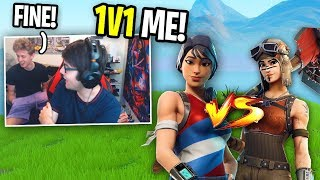 I challenged FORMULA to a 1v1 and THIS HAPPENED... (Fortnite Roommate 1v1)