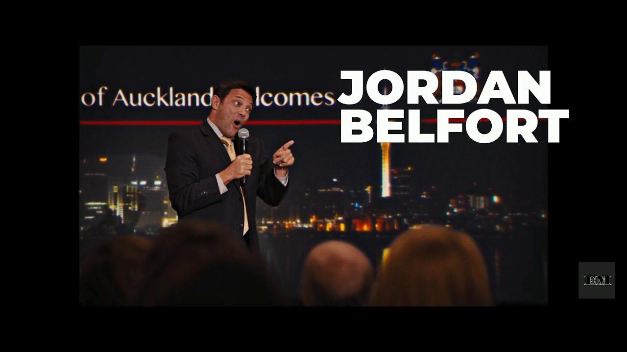 Cuervo entrenador Repulsión  Real Jordan Belfort Cameo | The Wolf of Wall Street - YouTube