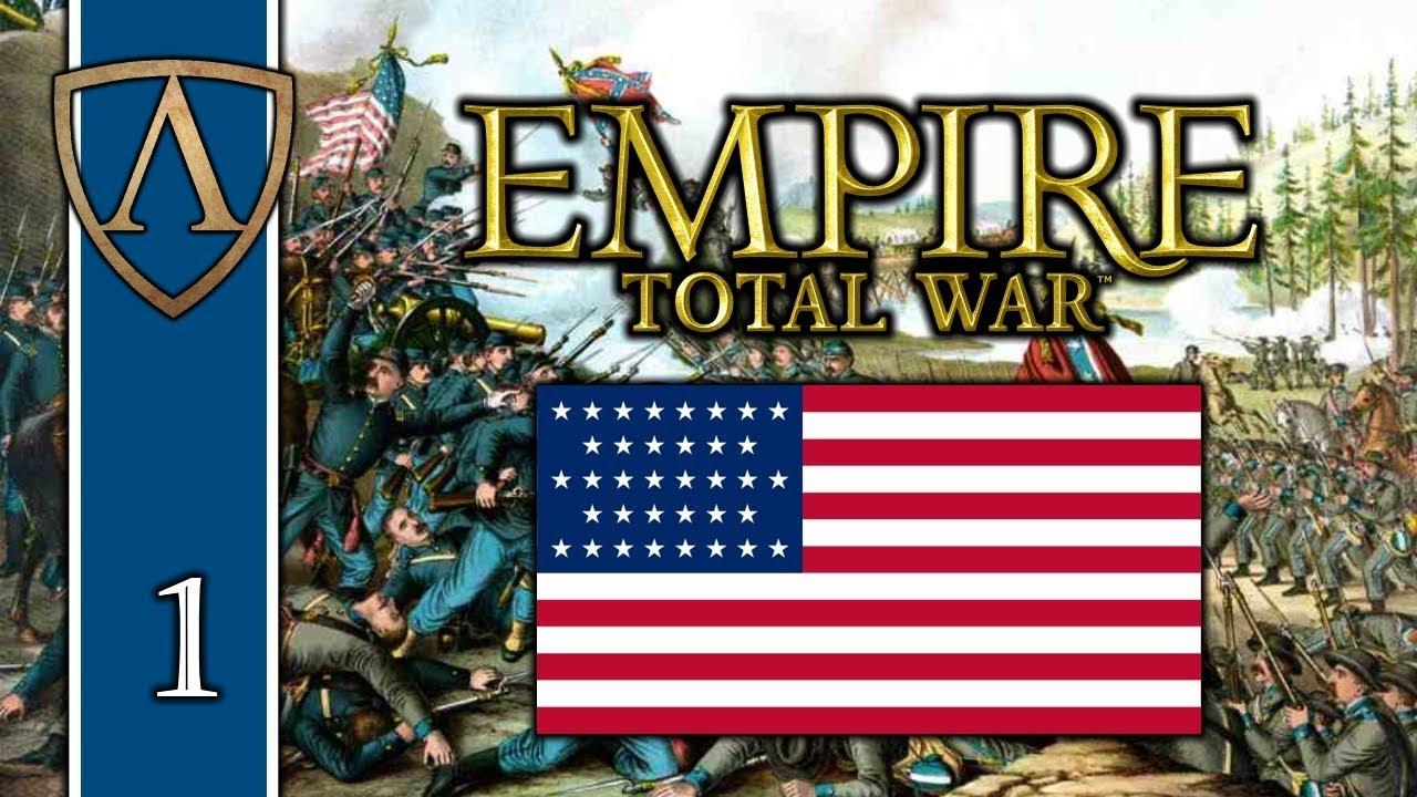 Let's Play Empire: Total War | American Civil War Mod 1