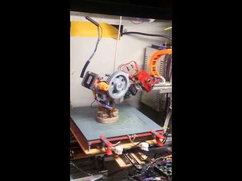 High speed 3d druck, budda printing 65mm/s real