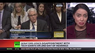 Disappointment: Google, Facebook & Twitter executives testify 'meddling' in Senate
