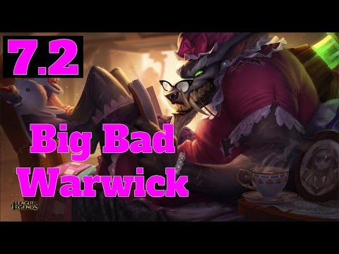[PBE:7.2] Big Bad Warwick Skin (Rework)