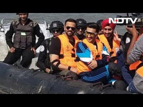 'Gives Me Goose Bumps': Ranveer Singh On Seeing Torpedoes On INS Kolkata