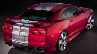 Chevrolet Camaro Red Flash Concept Videos