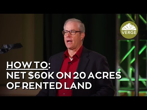 How Joel Salatin Nets 60k/year on 20 Acres of Rented Land!