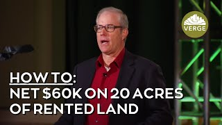 How Joel Salatin Nets 60k/year on 20 Acres of Rented Land!