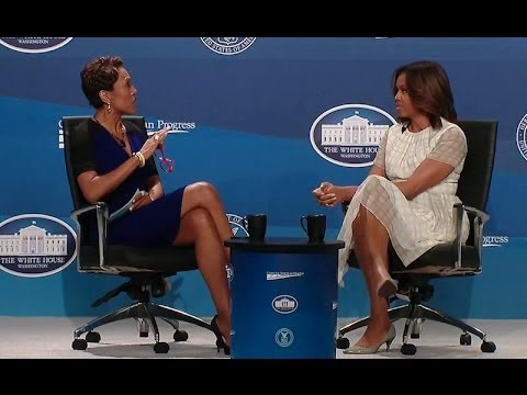 The First Lady Speaks at the Working Families Summit