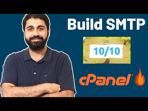 How To Create SMTP Mail Server With CPanel & Get 10/10 Sending Score - Send Bulk Emails!