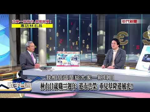數字台灣HD188改變一個城市 基隆蛻變!專訪林右昌 謝金河 林右昌
