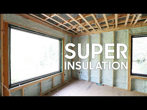 This House has some CRAZY Insulation Details