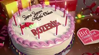 İyi ki doğdun ROZERİN - İsme Özel Doğum Günü Şarkısı