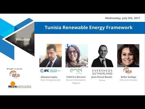 Webinar: Tunisia Renewable Energy Framework