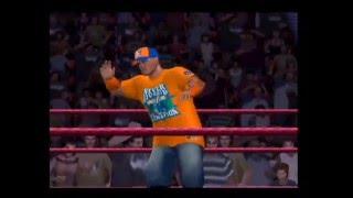 SVR 2011 Kane vs John Cena Ps2 Gameplay 2 Players