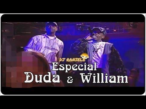 ESPECIAL MC'S WILLIAM & DUDA (Raps Ao Vivo) By RANIELE DJ