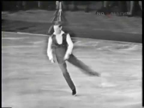 Ondrej Nepela - 1965 Europeans Exhibition