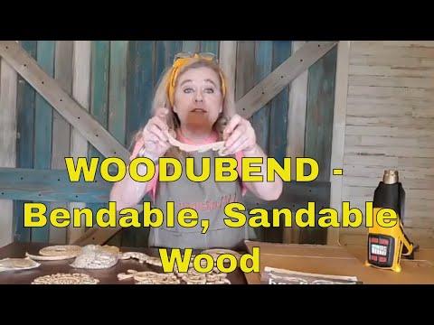 Woodubend -Bendable, Sandable Wood - #paintedfurniture #furnituremakeover