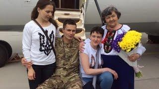 Надія Савченко на Батьківщині: подробиці повернення Героя України