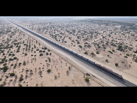 Etihad Rail, Test Run - Unravel Travel TV